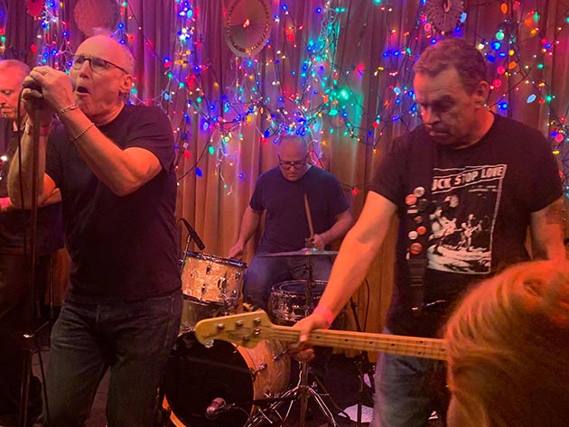 Man Sized Action rocking the Eagles Club for the Silverteens Christmas Show was one of many 2018 highlights. Photo by Jim Walsh