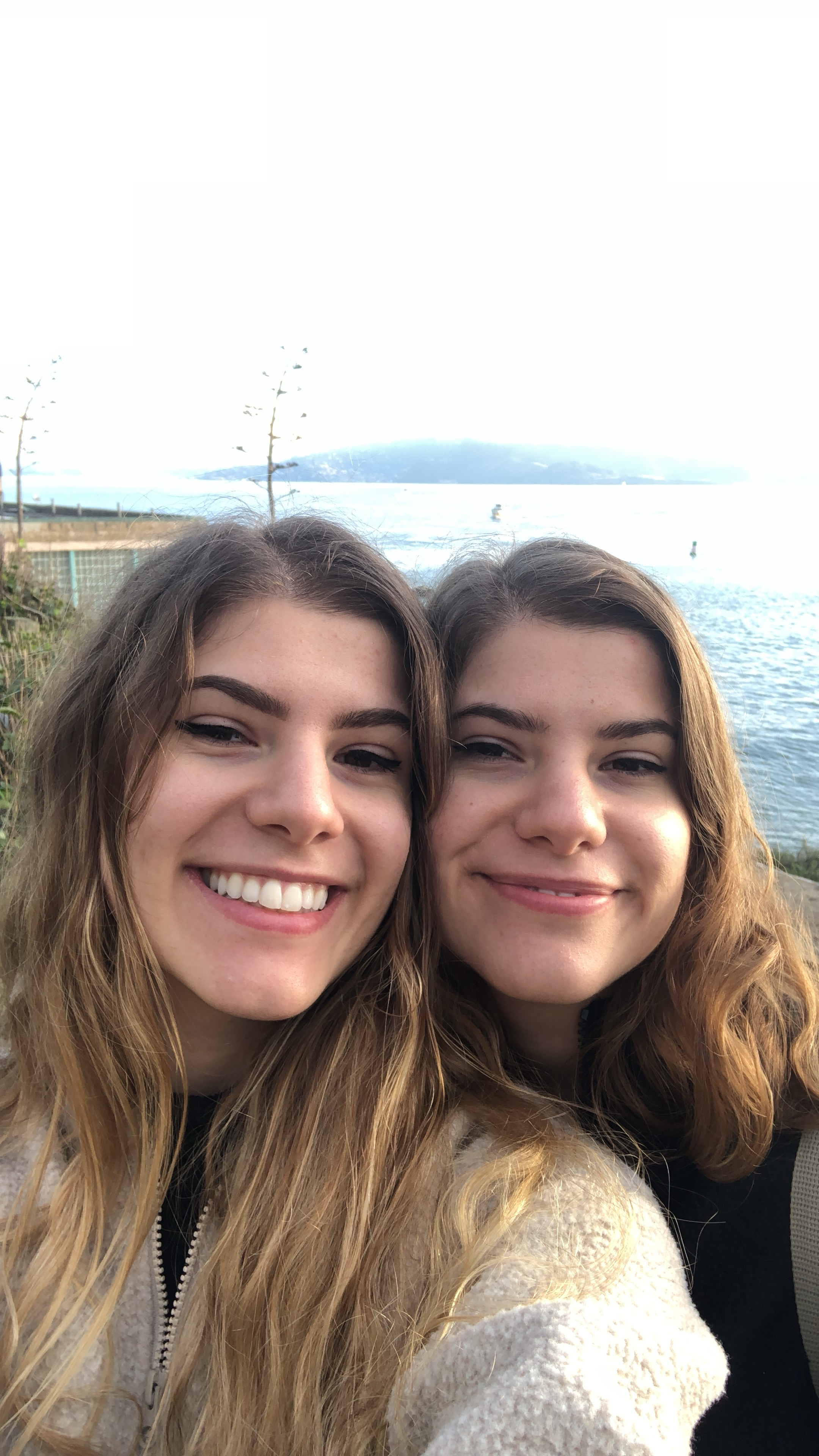 Twin sisters Geevie, left, and Sophia Wood are selling homemade products that offer natural, sustainable alternatives to everyday items like deodorant and lip balm. Submitted photo.