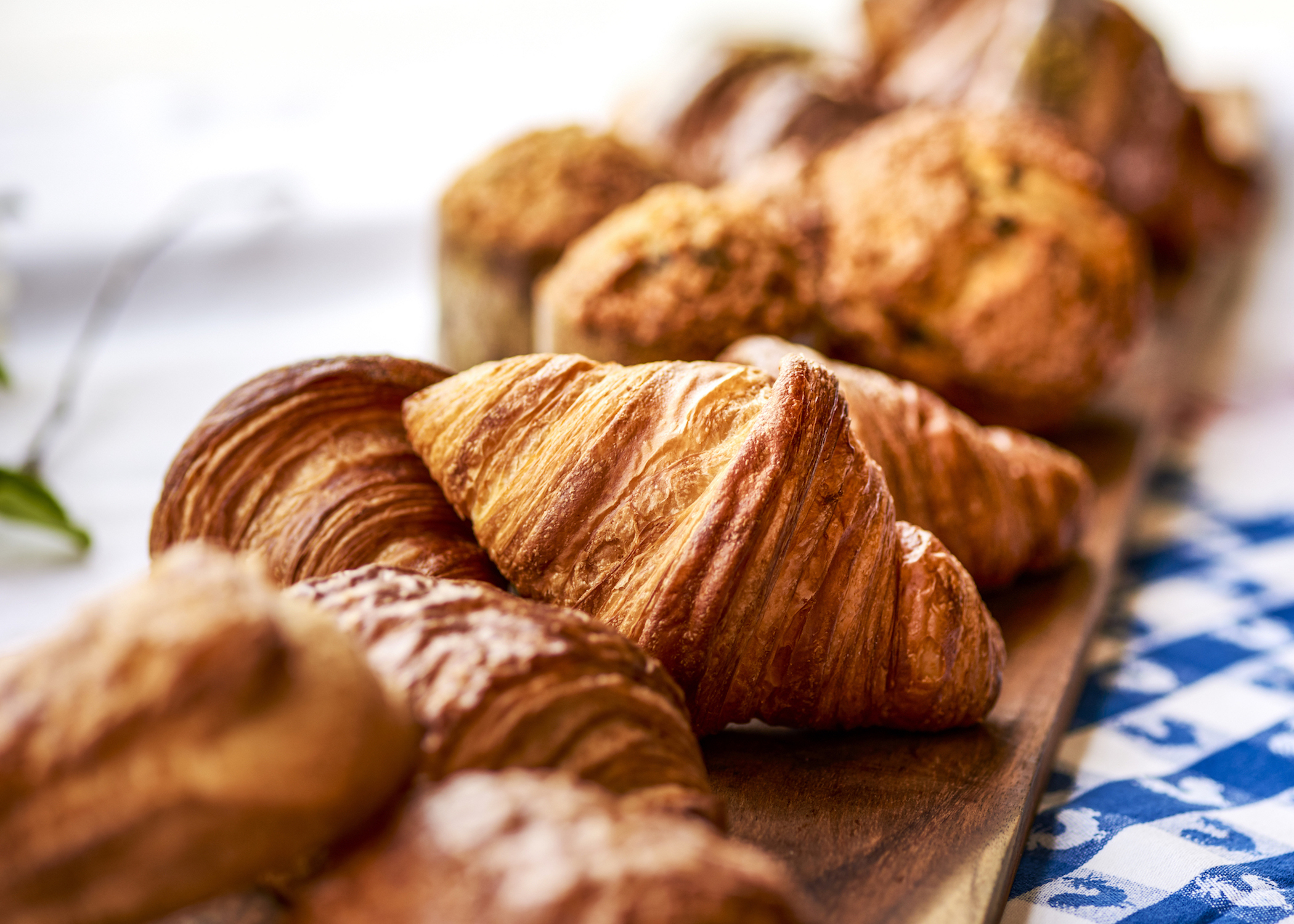 A croissant prepared by Goodpaster at Patisserie 46. The pastry chef said the seemingly simple croissant is her favorite food to bake. Photo by Isabel Subtil.