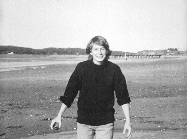 Mary Oliver near her home in Cape Cod in 1964. Photo by Oliver's lifelong love Molly Malone Cook. Submitted photo