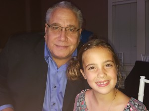 Steve Bonine pictured with his granddaughter Claira. Photo courtesy Jessica Sanders