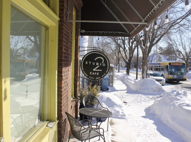 Studio 2 Cafe has closed in East Harriet. Photo by Andrew Hazzard.