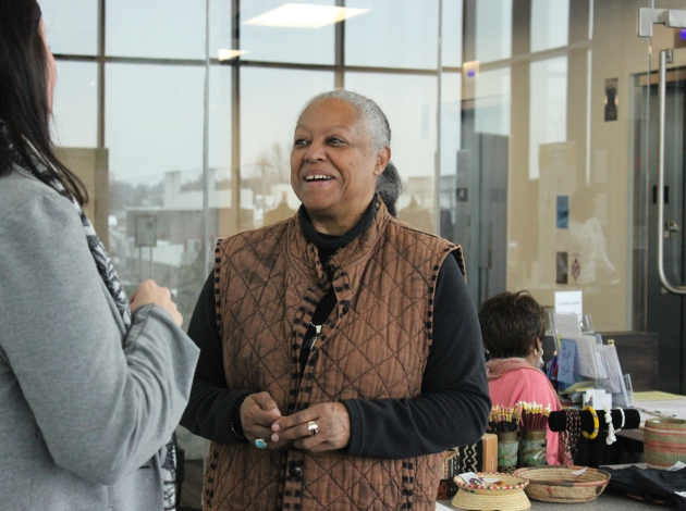 Regina resident Coventry Royster Cowens, African American Heritage Museum and Gallery co-founder, hopes to see new life in empty 38th Street lots.