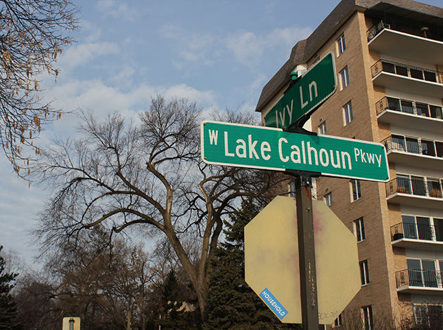 """Park Board Commissioner Jono Cowgill said he hopes to update """"the street names around Bde Maka Ska to reflect the name of the lake."""" Photo by Zac Farber"""