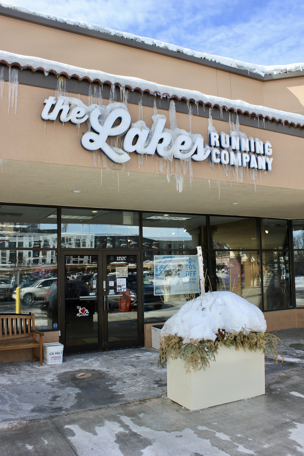 The Lakes Running Company is closing its Minneapolis location at the end of March. Photo by Andrew Hazzard.