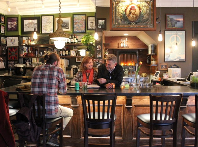 Prodigal Public House owners Randi and Jeff Cowmeadow, pastor of Calvary Baptist Church.