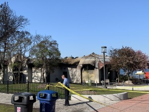 Lola on the Lake was destroyed by a fire in the predawn hours of May 16. Photo by Andrew Hazzard