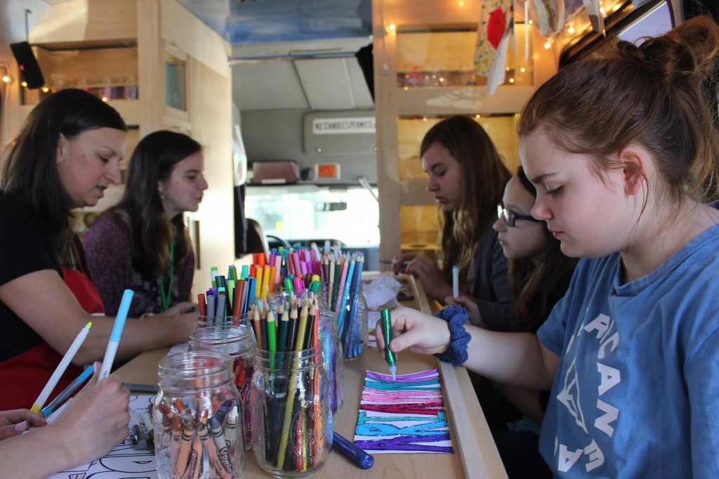 Ziggy's Art Bus at the Ronald McDonald House