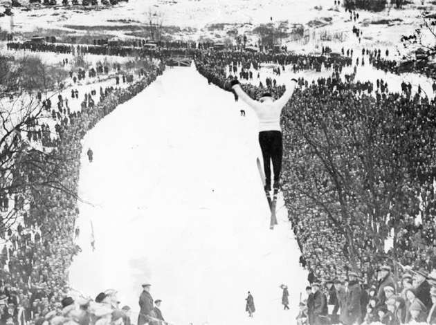 "After Glenwood Park hosted the trials for the U.S. Olympic ski team in 1924, Minneapolis Park Superintendent Theodore Wirth was hopeful. ""The prospects are the Olympic winter sports games will be held in Minneapolis in 1928 or 1932,"" he said. Credit:"