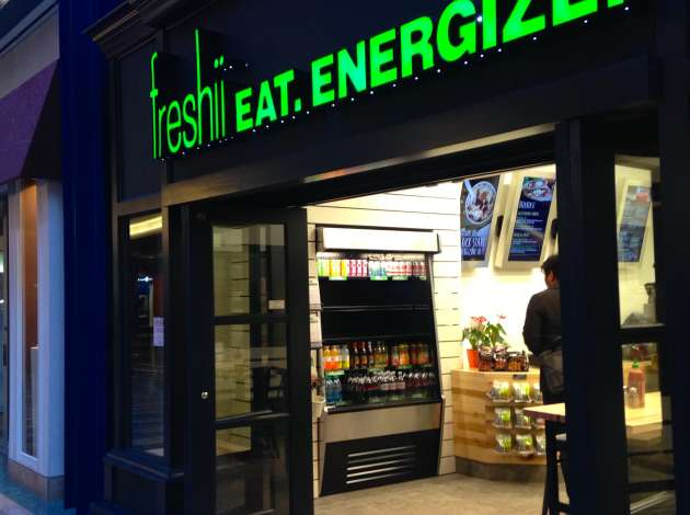 Freshii recently opened in the skyway level of Gaviidae Common on Nicollet Mall.  Credit: Photo by Sarah McKenzie