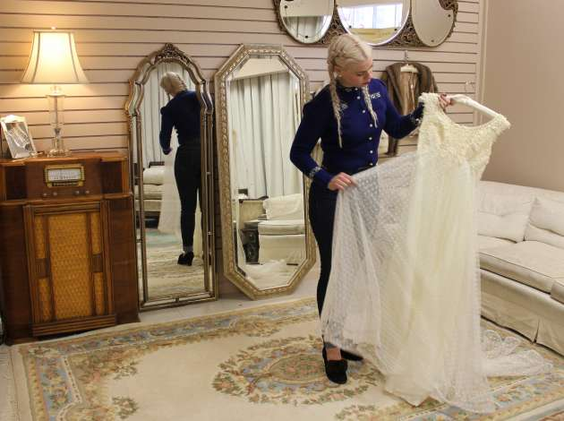 Andrea's Vintage Bridal Features Classic Gowns And A