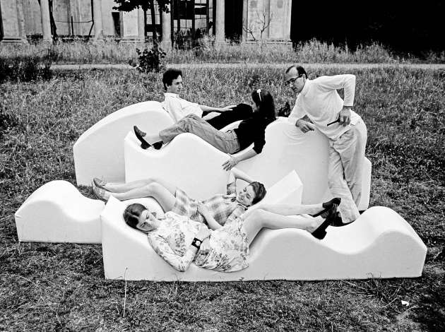 Superonda Sofa, produced in 1966 by the Archizoom Associate design studio of Florence, Italy. Credit: Submitted image