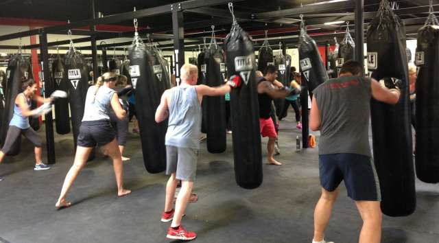 TITLE Boxing Club Classes Are Based On And Kickboxing Workouts But People Arent Actually Hitting Each Other Include High Energy