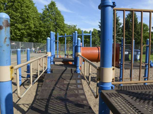 The Park Board seeks to close a growing funding gap in maintaining the city's 157 neighborhood parks, such as Bethune Park. Credit: Photo courtesy of the Minneapolis Park and Recreation Board