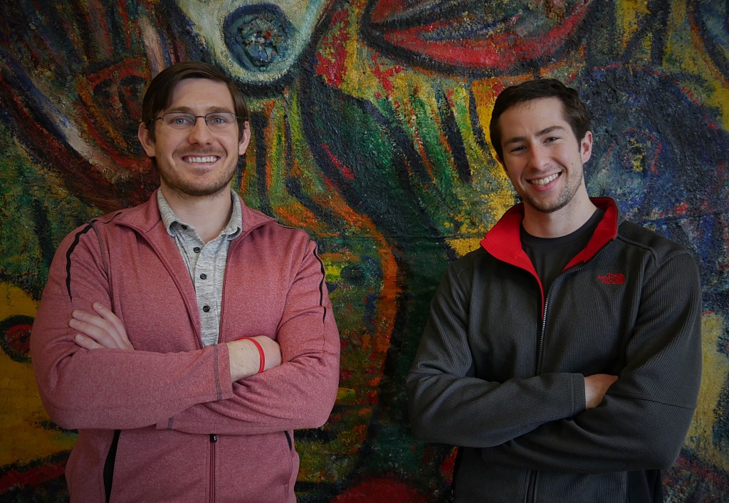 Bizzy Coffee co-founders Andrew Healy and Alex French. Submitted photo