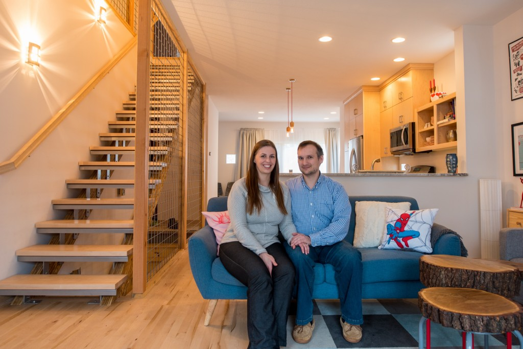 Julie Ramsland and Mike Mason replaced their Linden Hills home with a Scandinavian-style house. Submitted photo