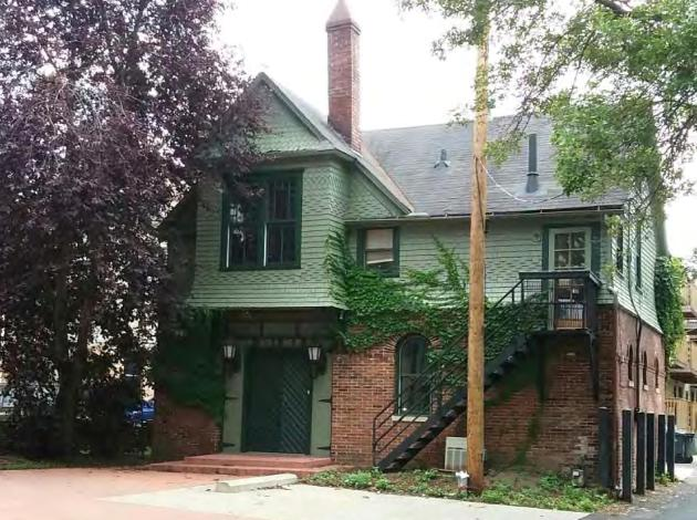 The Coe Mansion carriage house. Image courtesy of city of Minneapolis
