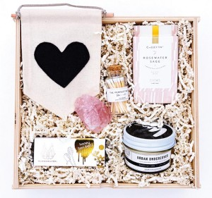 The Be Mine gift box from Minny + Paul, appearing at the Hewing Hotel's Valentine's Day pop-up shopping events. Submitted image