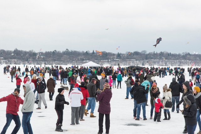 Lake Harriet Kite Festival 1_- Photo by Alan Wilfahrt courtesy of Minneapolis Park and Recreation Board