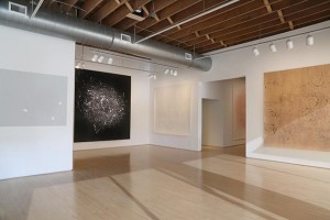"""Installation view of """"Vortex Drawings"""" at Highpoint Center for Printmaking. Submitted photo"""
