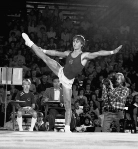 Brian Meeker was a Big Ten champion gymnast and All-American at the U from 1979 to 1982. He went on to become a member of the U.S. National Team. Photo courtesy University of Minnesota Athletics Department