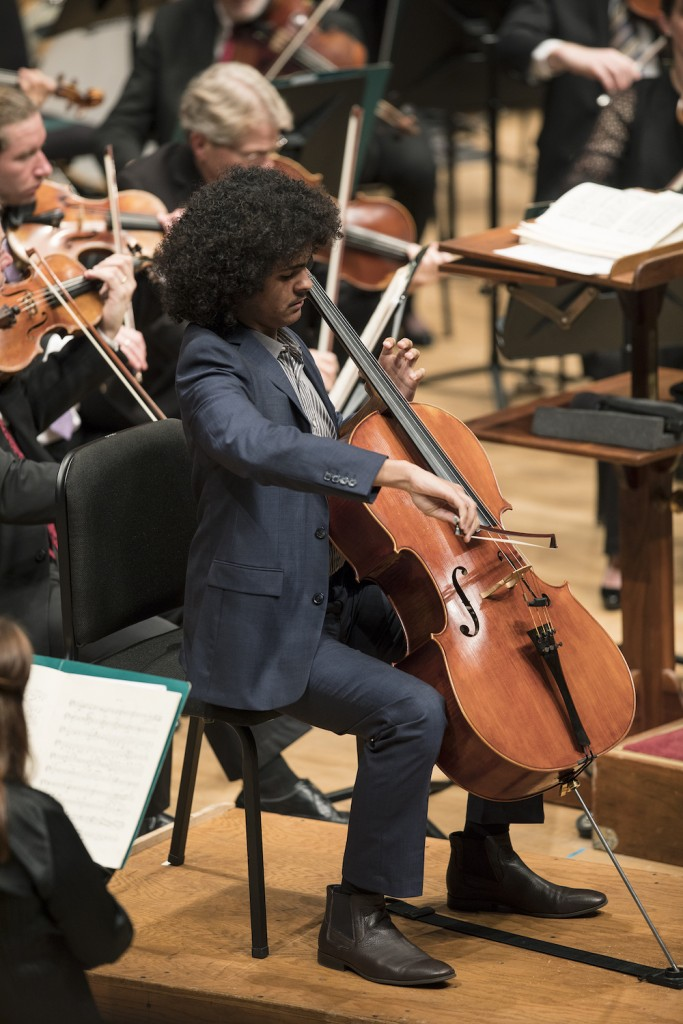 Witherspoon plays with the Minnesota Orchestra in October. Photo by Greg Helgeson
