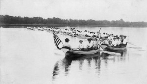 Lake Harriet Boating Club sponsored by YWCA c 1900