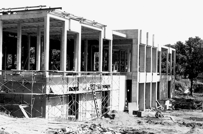 Lakewood masoleum construction