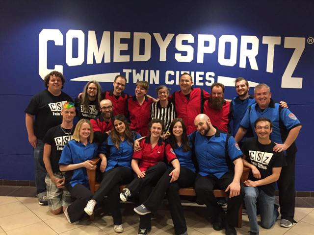 The ComedySports cast, pictured on June 9. Submitted photo