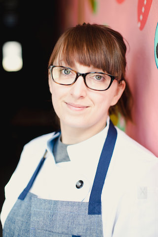 Chef Jessica Cak Trapeze Bubbles Bar and Barbette Image Bartmann Group