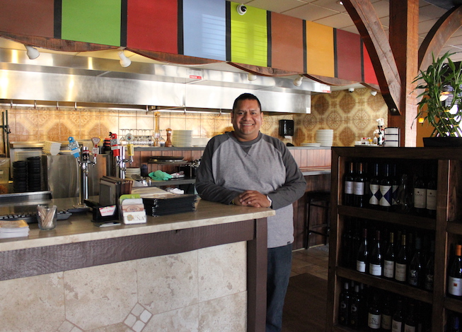 Restauranteur Hector Ruiz is hoping to open his latest project at 50th & Xerxes by the end of 2018. File photo.