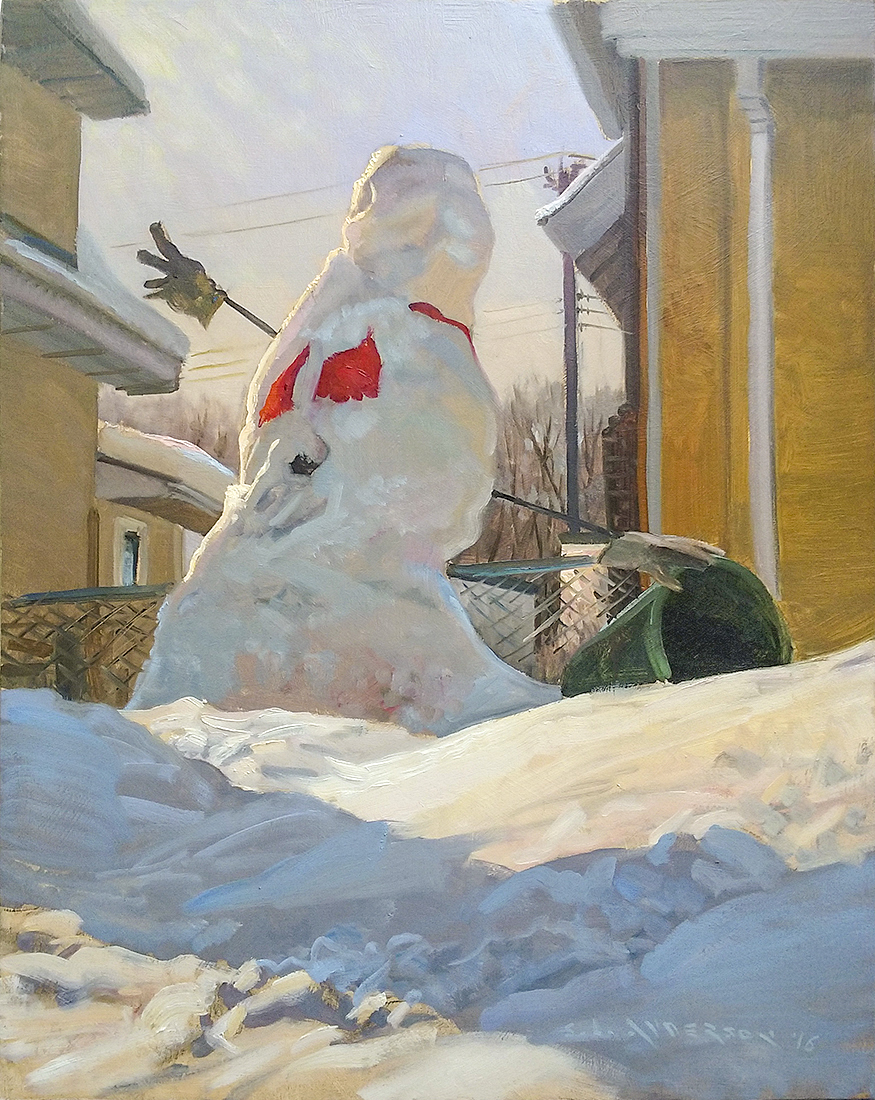 Snow people, Scott Lloyd Anderson