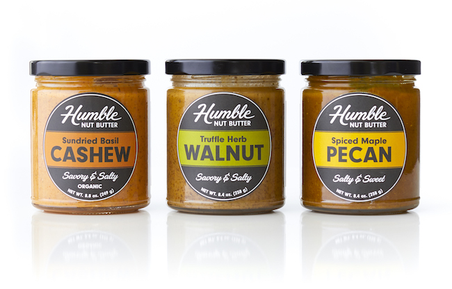 humble nut butter jars