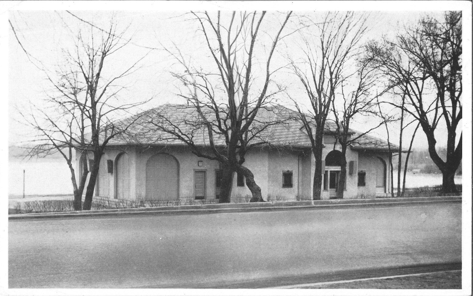 A MPRB archival photo shows the pavilion sometime in the 1930s or '40s. Submitted image