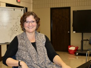 Washburn High School choir teacher Nancy Lee