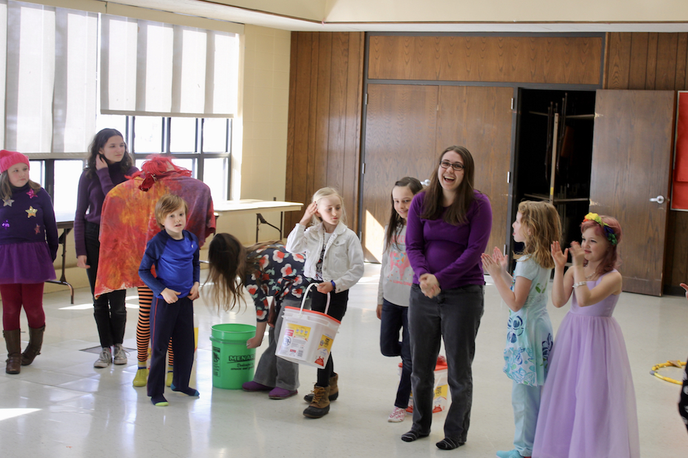 Theater Nest actors and helpers