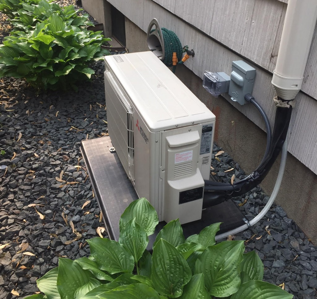ductless mini-split condenser