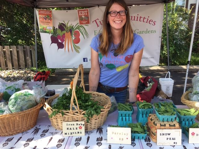 Kristin Thompson from Tuttie Fruittie's Farm.