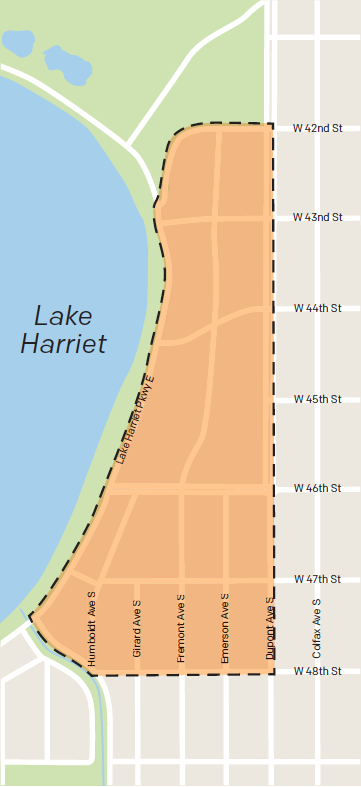 Harriet-area historic district