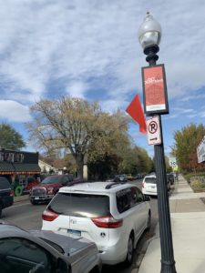 No-parking signs were added at 50th & Xerxes