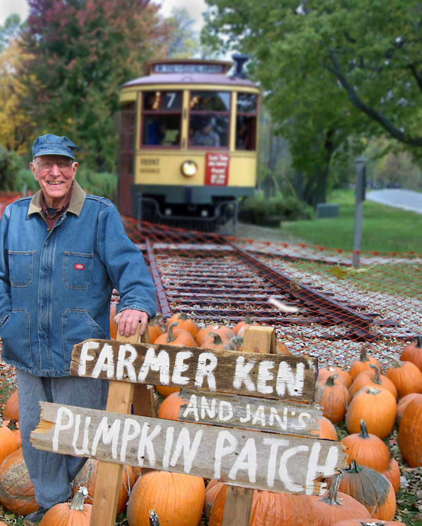 Como-Harriet Streetcar Line pumpkin patch