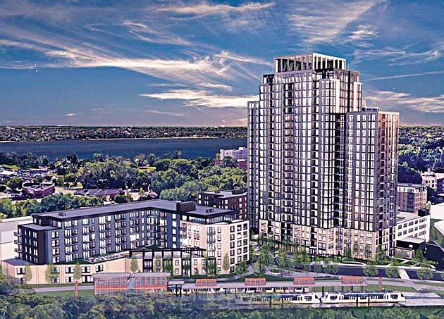 Calhoun Towers rendering