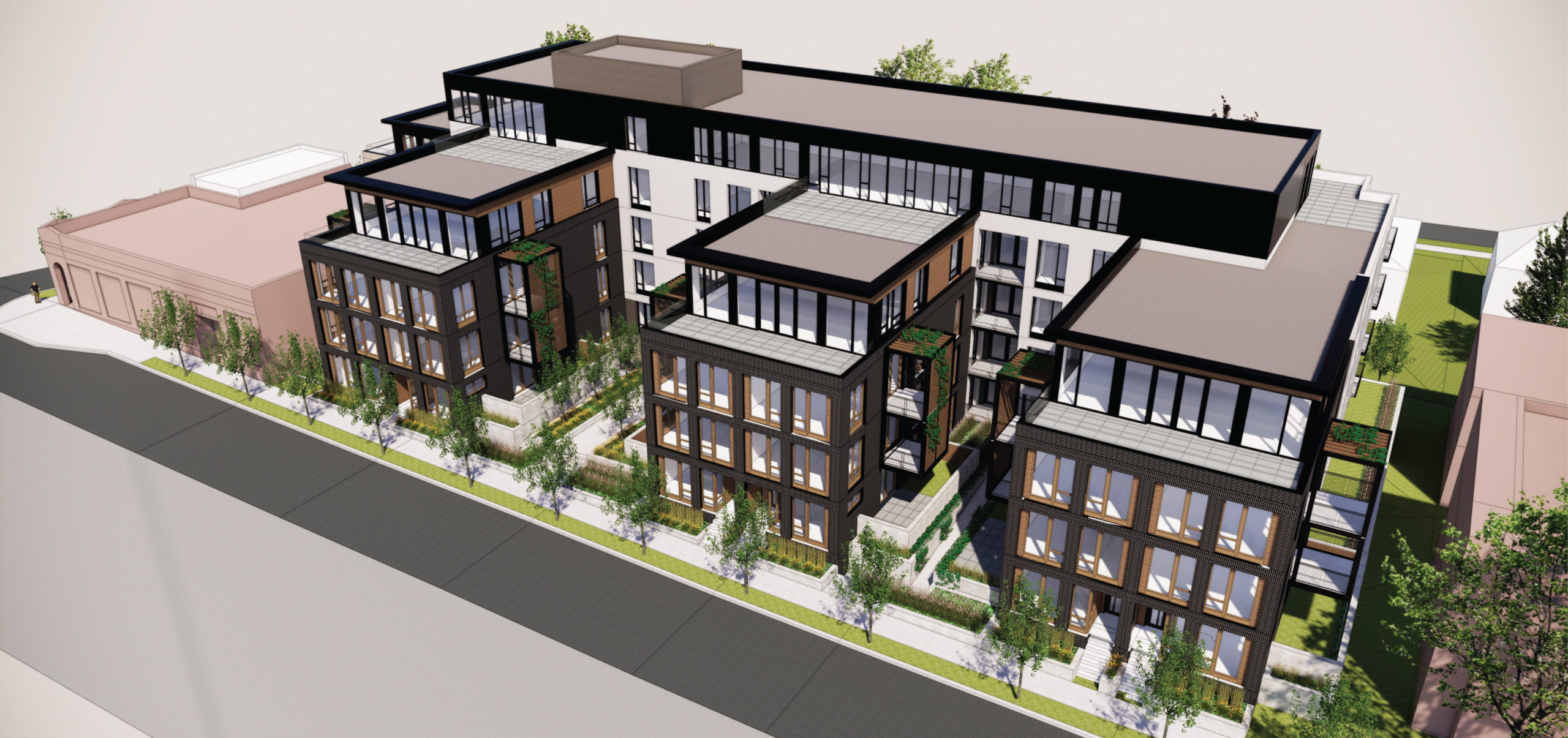 Early plans released for big E-shaped South Uptown apartment ...