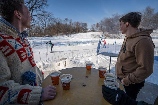 City of Lakes Loppet Winter Festival (2019) - Todd Bauer 2 Beer garden