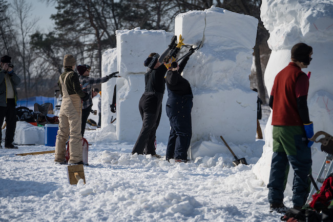 City of Lakes Loppet Winter Festival (2019) - Todd Bauer Sculptures 2