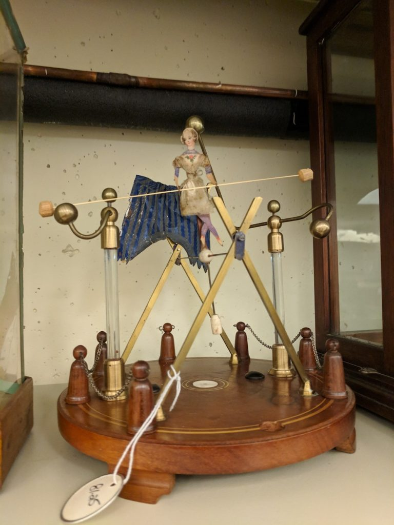 Electrostatic Tightrope Walker, made 1750-1850