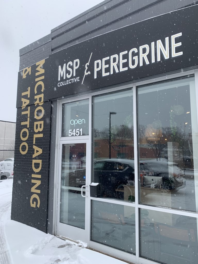 MSP Microblading Collective and Peregrine Tattoo