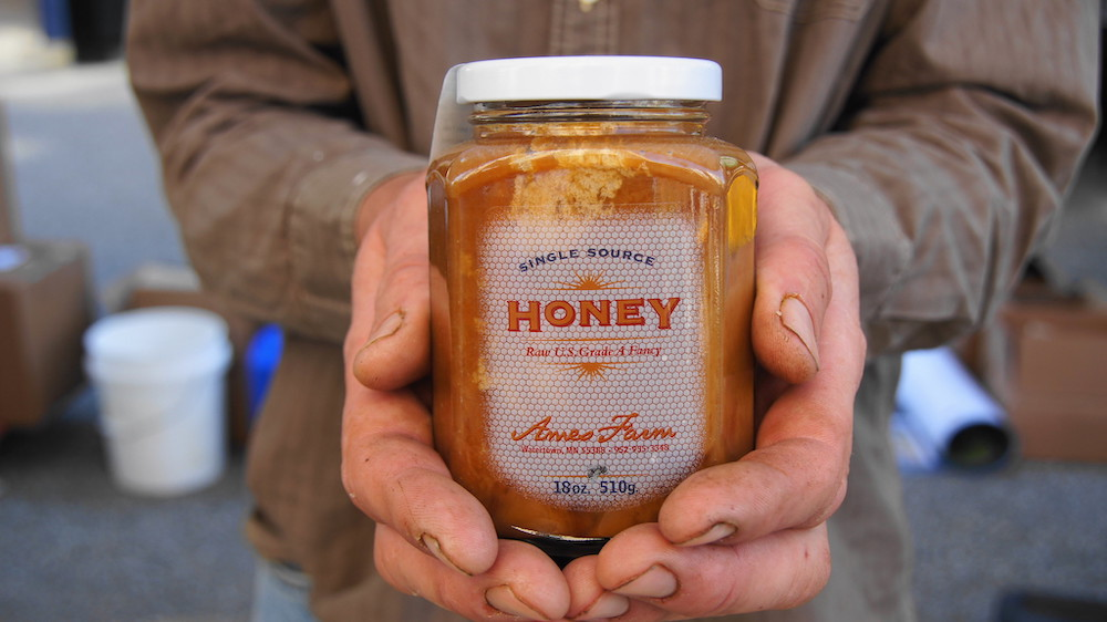 Ames Farm's single-source honey