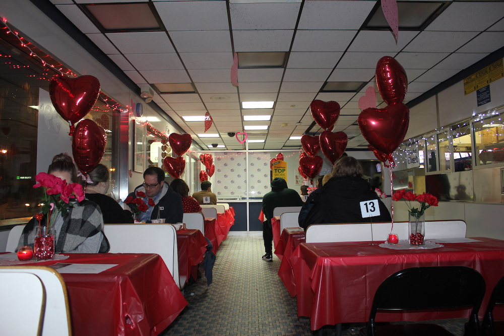 The White Castle at Lake & Blaisdell closed at 1 p.m. on Valentine's Day