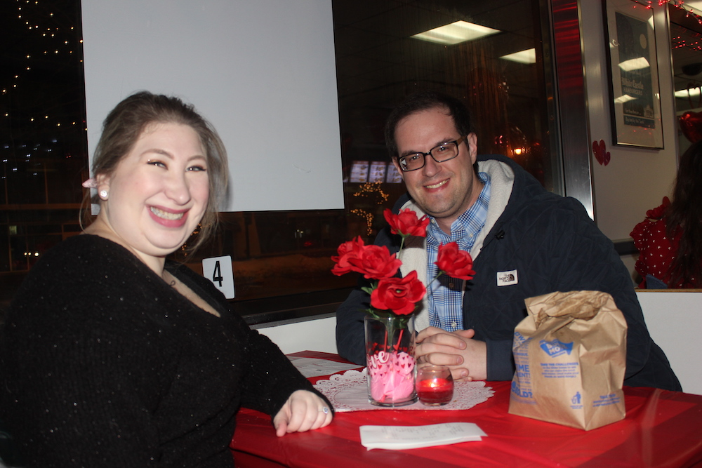Alex and Brittany Beniak were joking when they first thought of going to White Castle for Valentine's Day